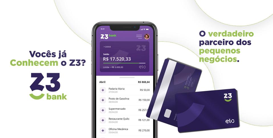 Z3 Bank - Zaz Vendas